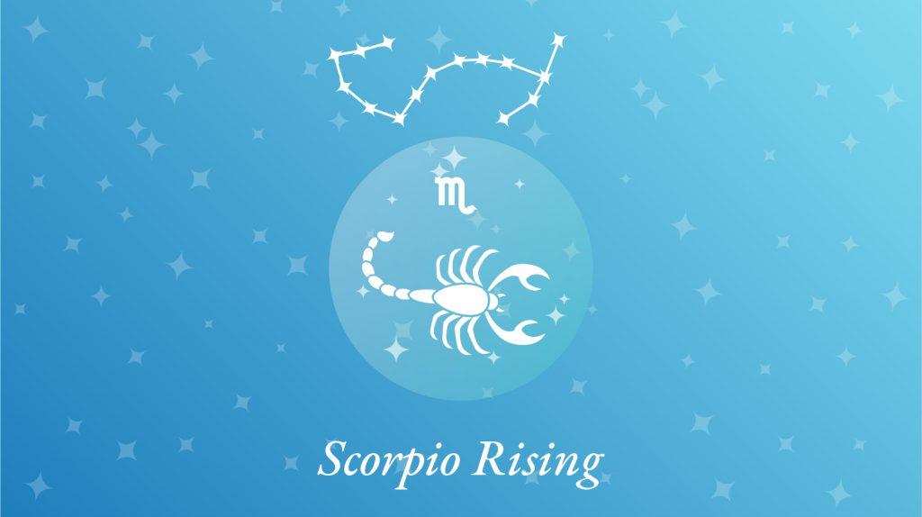 Scorpio Rising Sign Constellation