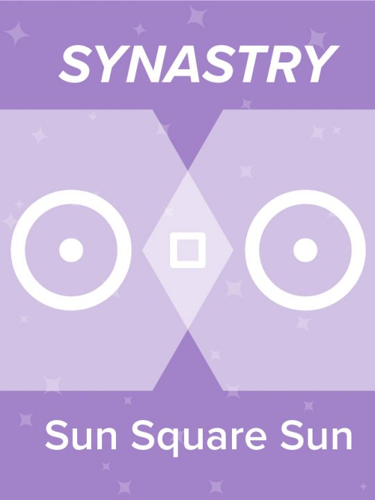 Sun Square Sun Synastry