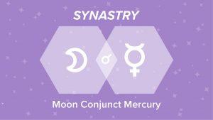 Moon Conjunct Mercury Synastry