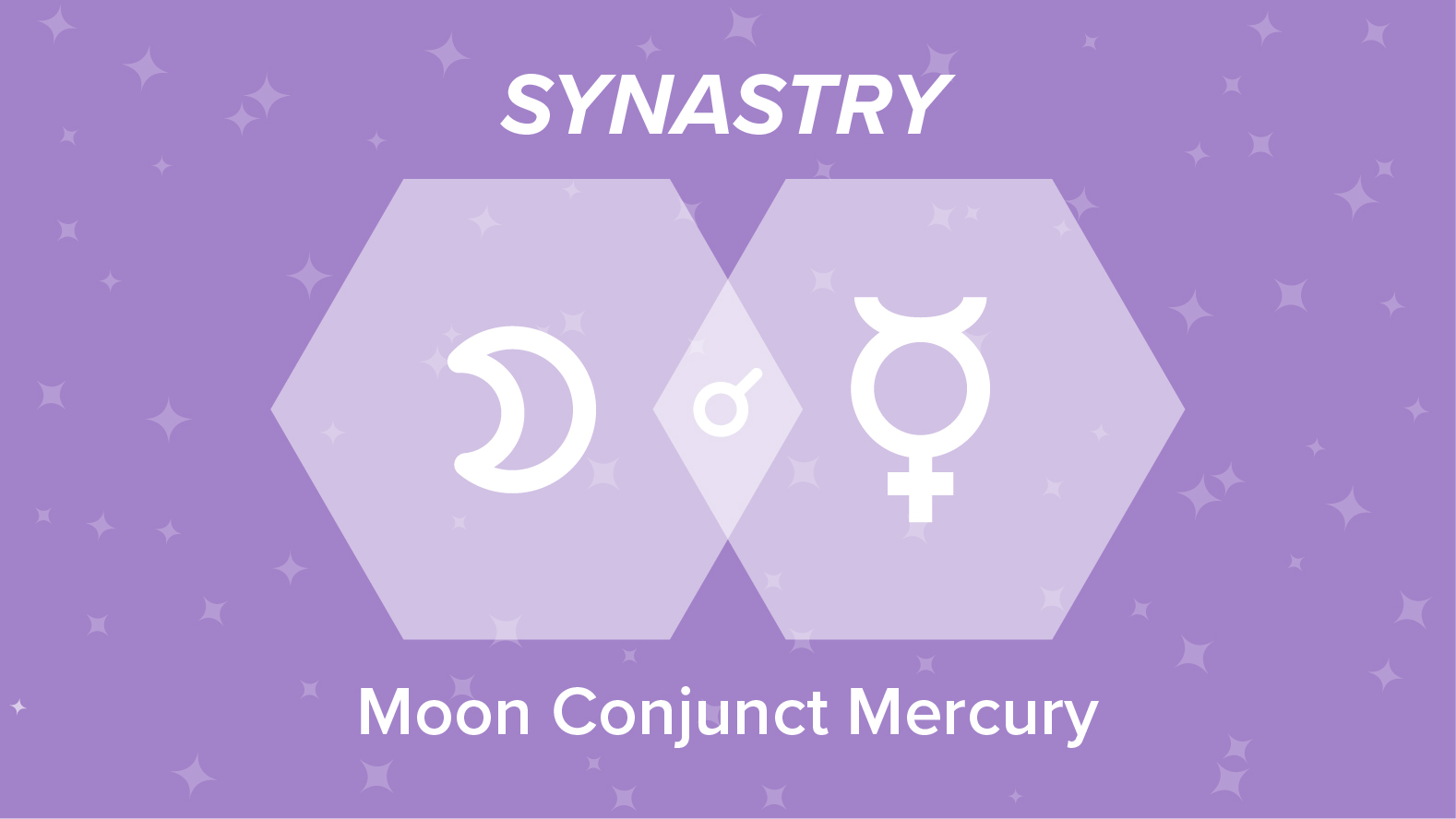 Moon Conjunct Mercury Synastry: Relationships and Friendships Explained