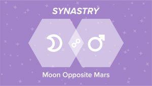 Moon Opposite Mars Synastry