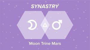 Moon Trine Mars Synastry