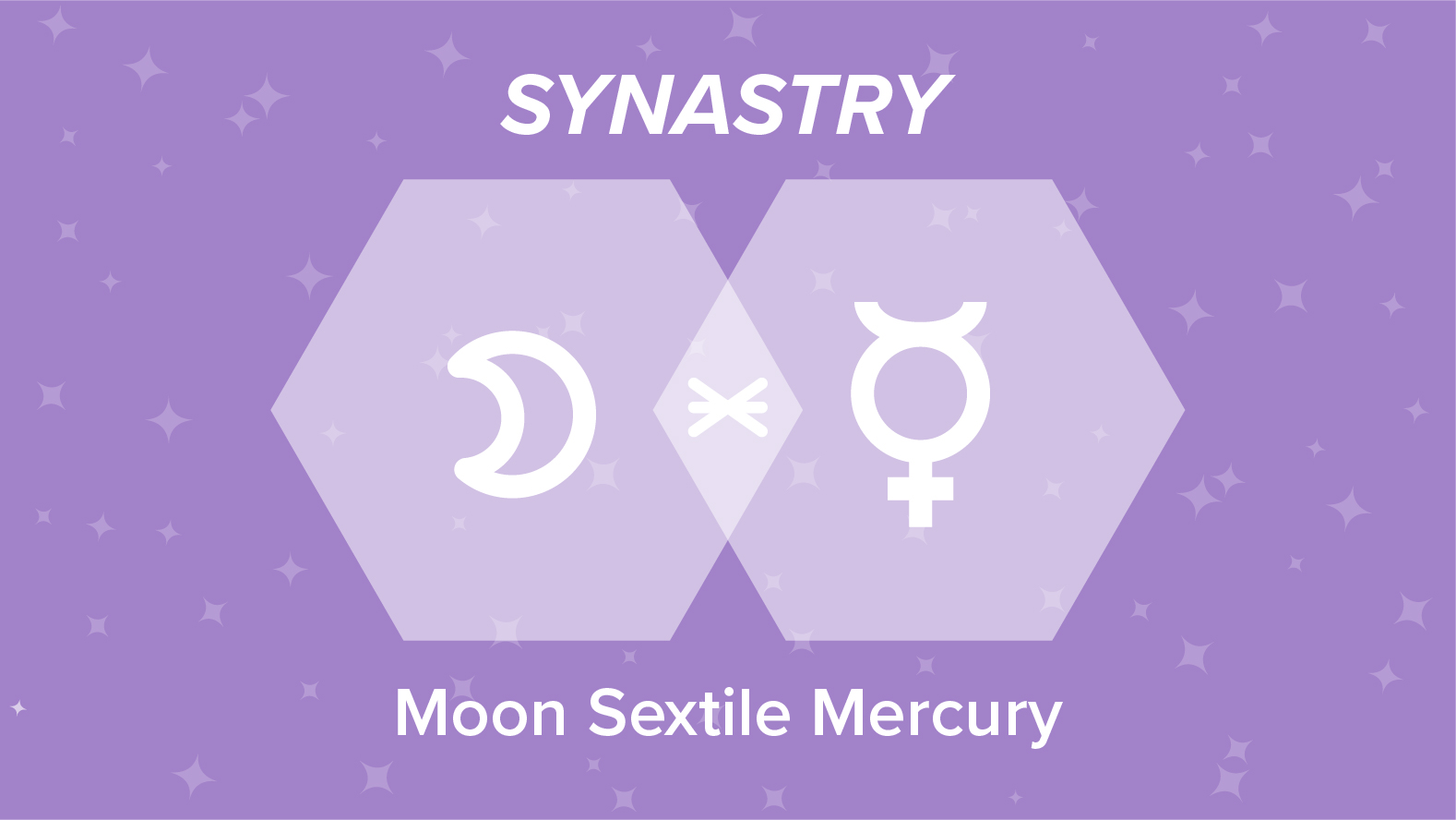 Moon Sextile Mercury Synastry: Relationships and Friendships Explained