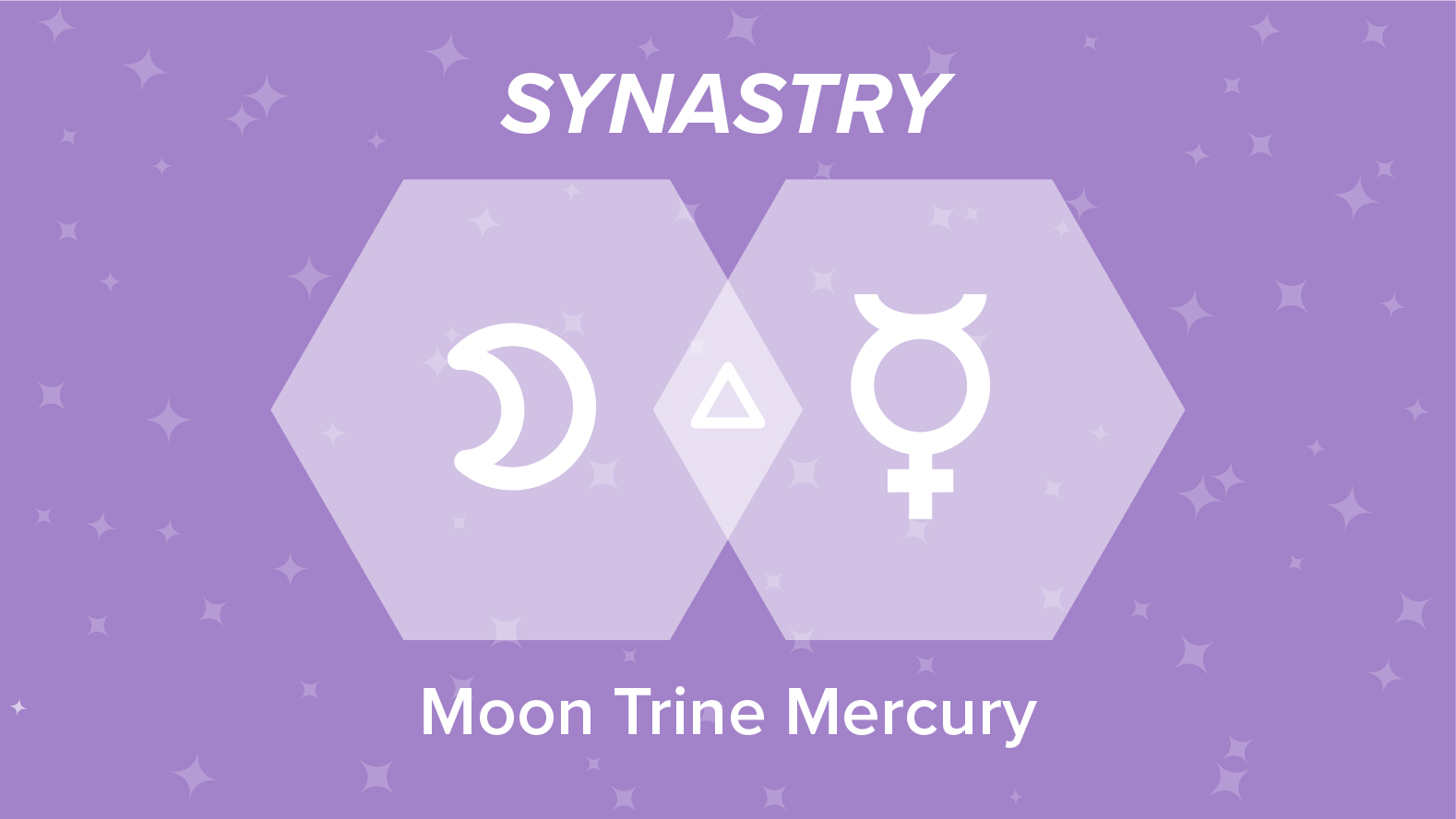 Moon Trine Mercury Synastry: Relationships and Friendships Explained