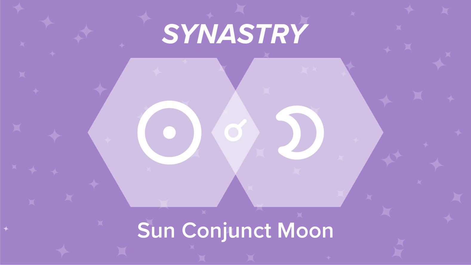 Sun Conjunct Moon Synastry